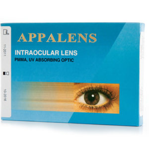 LENTE INTRAOCULAR RIGIDO APPALENS APPASAMY
